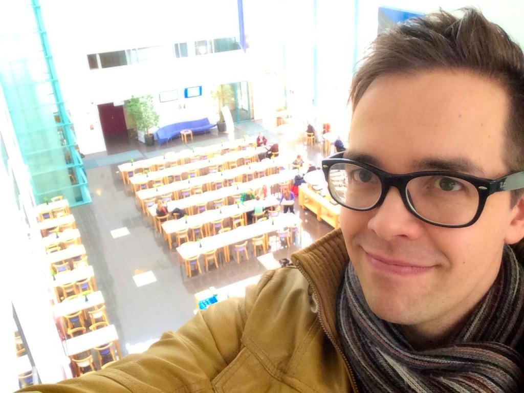Senior Lecturer Ilkka Kurkela at Laurea Espoo Otaniemi Campus