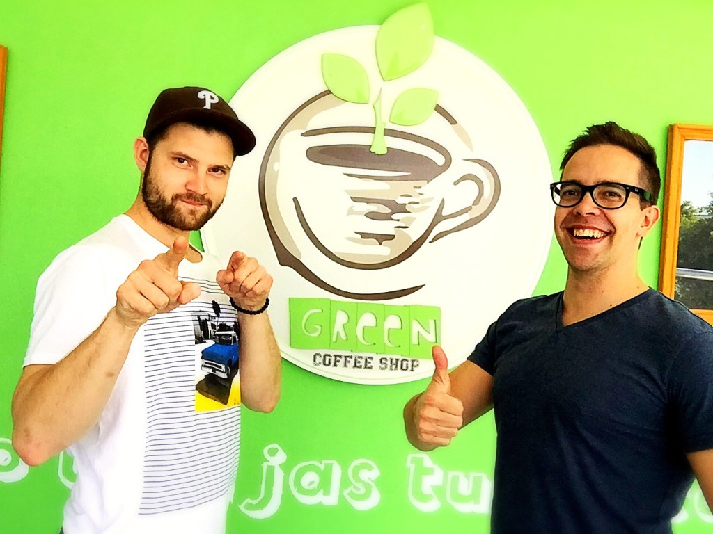 Mexico - Green Coffee Shop Juuso Strengell - Interview